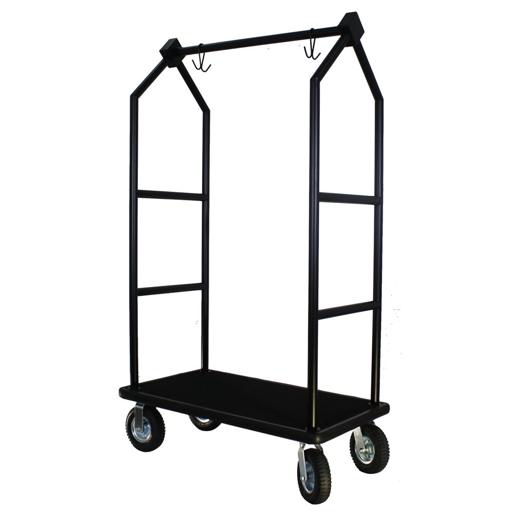 Bellmans Contemporary Cart, Powder Coat Black